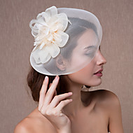 Women's Organza Headpiece-Wedding Fascinators / Flowers / Hats