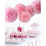 Perlen-Papier Hochzeits-Dekorationen-5piece / Set Einzigartiges Hochzeits-Dekor / Seidenpapier DekorationBrautparty / Baby Party / Schul-