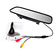 5 Inch HD 800X480 TFT-LCD Car Rearview Monitor With Stand Reverse Backup Camera High Quality