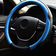 Bonded Leather Steering Wheel Cover