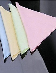 Superfine fiber mobile phone or computer or glasses cleaning cloth  Random colors(Set of 10pcs)