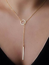Modische Halsketten Anhängerketten Schmuck Geburtstag / Party Modisch / Einstellbar Aleación Goldfarben 1 Stück Geschenk