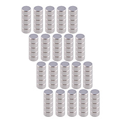 Magnet Toys 100Pcs 5x3mm Magnet Toys / Super Strong Rare-Earth Magnets / Neodymium Magnet Executive Toys Puzzle Cube DIY ToysMagnetic