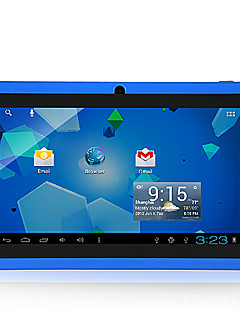 A33 7 pollici Tablet Android (Android 4.4 800*480 Quad Core 512MB RAM 4GB ROM)