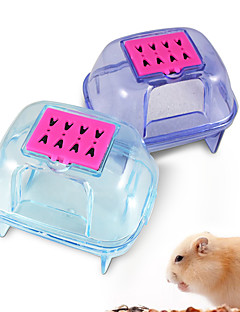 Plastic pet hamster sauna room deodorizing small animal hamster sand bath room bathroom potty quality