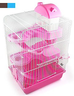 New popular products of high quality plastic color castle three-story building villa hamster pet hamster cage