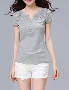 84d94f7509e8 Γυναικεία T-shirt Καθημερινά Απλό   Κομψό στυλ street Μονόχρωμο
