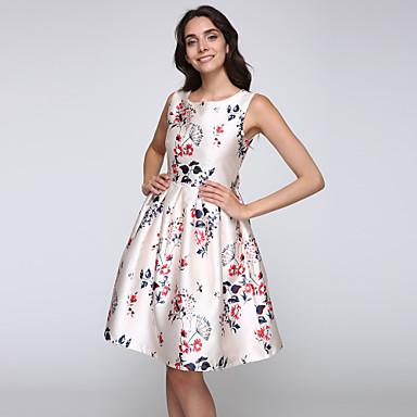 8af6e6fb2bee Πάρτι Κοκτέιλ Βίντατζ Swing Φόρεμα